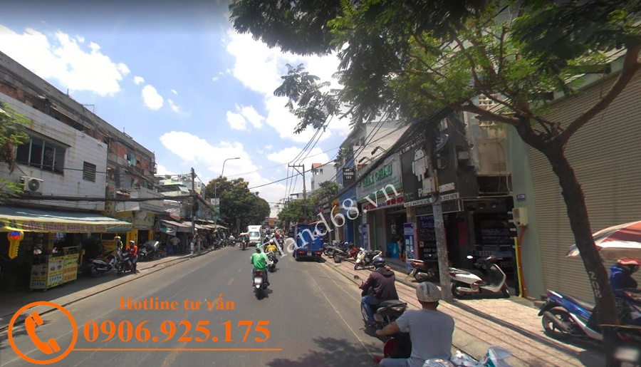 Cho thuê nhà góc 2 mặt tiền đường Lê Văn Sỹ
