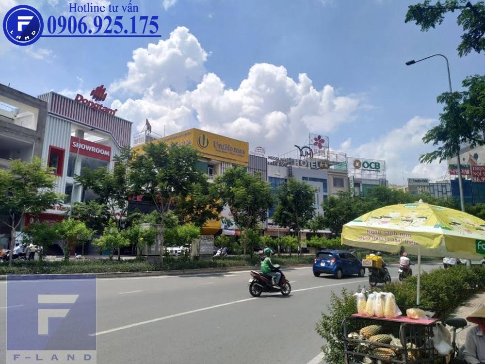 Cho thuê nhà phố số 7 Trần Não Quận 2