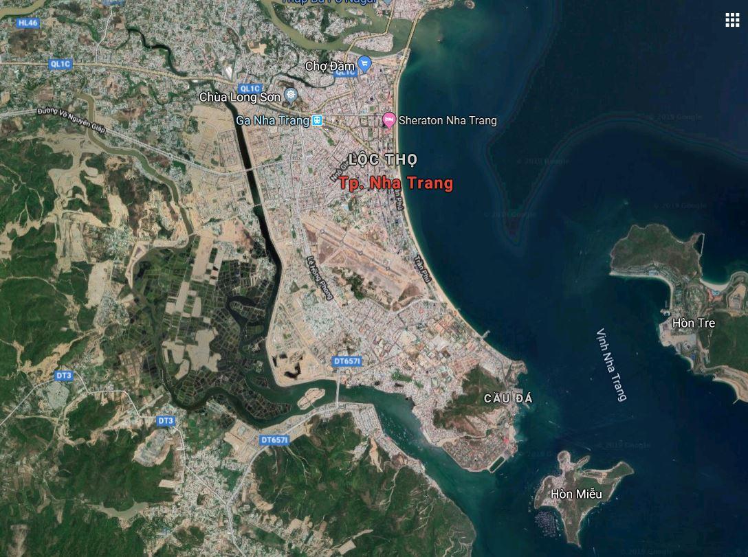 Vị trí địa lý Nha Trang